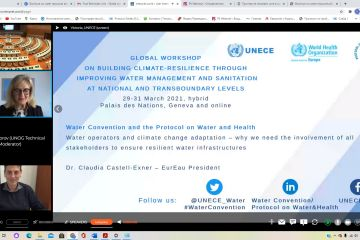 Information on Global workshop on building climate resilience through improving water management and sanitation at national and transboundary levels