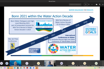 """Information on the Regional Forum on Sustainable Development for the UNECE region: """"Water Dialogues for Results - towards Bonn 2021: Accelerating cross-sectoral SDG 6 implementation"""""""