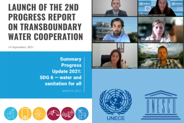 Webinar: Launch of the second Progress Report on Transboundary Water Cooperation: Global status of SDG indicator 6.5.2 and acceleration needs